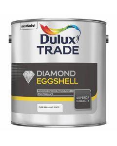 DULUX Trade Diamond Q/D Eggshell 2.5L B/White