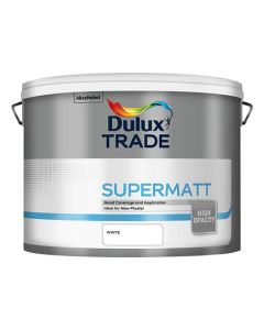 DULUX Trade Supermatt 10L White