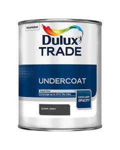 DULUX Trade Undercoat 1L Dark Grey