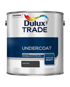 DULUX Trade Undercoat 2.5L Dark Grey