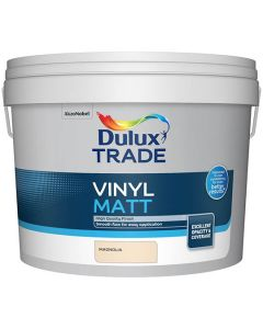 DULUX Trade Vinyl Matt 10L Magnolia
