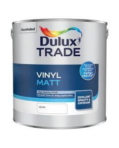 DULUX Trade Vinyl Matt 2.5L White