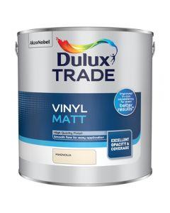Dulux Trade Vinyl Matt 2.5L Magnolia