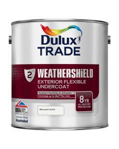 DULUX Trade Weathershield Ext Undercoat 2.5L B/White