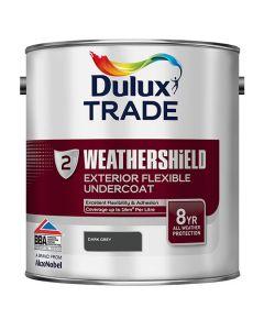 DULUX Trade Weathershield Ext Undercoat 2.5L Dark Grey
