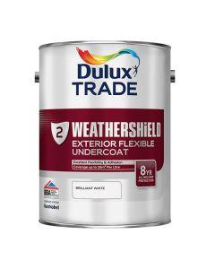 DULUX Trade Weathershield Ext Undercoat 5L B/White