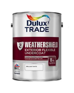 DULUX Trade Weathershield Ext Undercoat 5L Dark Grey