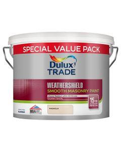 DULUX Trade Weathershield Masonry Smooth 7.5L Magnolia