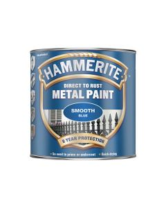 HAMMERITE Metal Paint - Smooth Finish 750ml Blue