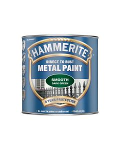 HAMMERITE Metal Paint - Smooth Finish 750ml Dark Green