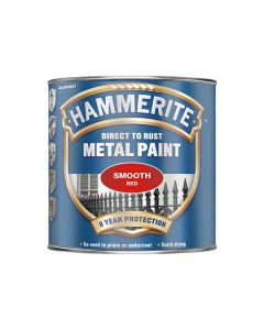 HAMMERITE Metal Paint - Smooth Finish 750ml Red