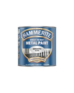 HAMMERITE Metal Paint - Smooth Finish 250ml Silver