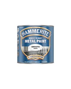 HAMMERITE Metal Paint - Smooth Finish 250ml White