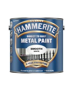 HAMMERITE Metal Paint - Smooth Finish 2.5L White