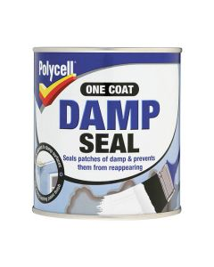 POLYCELL Damp Seal - One Coat Damp Proof Paint 2.5L White