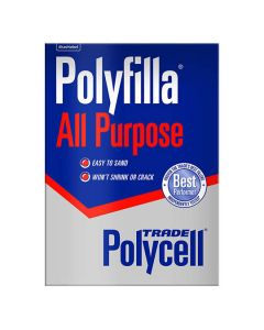 POLYCELL Polyfilla All Purpose Powder Trade Int/Ext Box 2kg
