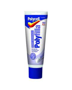 Polycell Trade Polyfilla Fine Surface Filler White 400g Tube