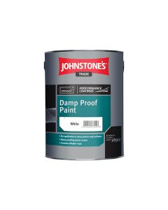 JOHNSTONES Damp Proof Paint 750ml White