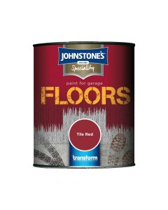 Johnstones Garage Floor Paint 750ml Black