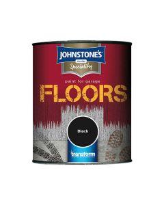 JOHNSTONES Garage Floor Paint 750ml Black