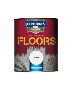 Johnstones Speciality Garage Floor Paint White 750ml