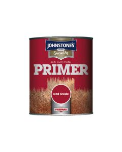 JOHNSTONES Speciality - Anti Rust Metal Primer 750ml Red Oxide