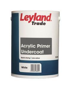 LEYLAND Acrylic Q/Drying Primer Undercoat 5L White