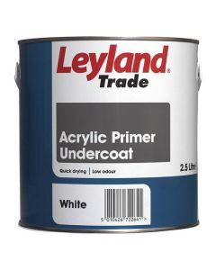 LEYLAND Acrylic Q/Drying Primer Undercoat 2.5L White