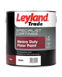 Leyland Trade Heavy Duty Floor Paint Slate 2.5L