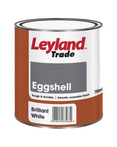 LEYLAND Oil Eggshell 750ml B/White