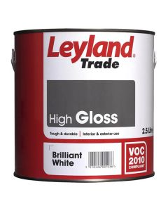 LEYLAND Oil Gloss 2.5L B/White