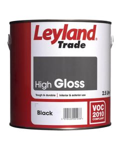 LEYLAND Oil Gloss 2.5L Black