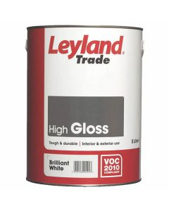 LEYLAND Oil Gloss 5L B/White