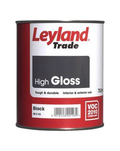 LEYLAND Oil Gloss 750ml Black