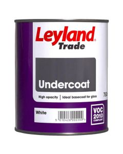 LEYLAND Oil Undercoat 750ml White