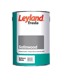 LEYLAND Satinwood 5L B/White