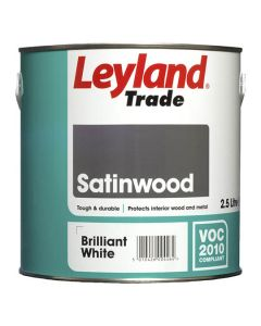 LEYLAND Satinwood 2.5L B/White