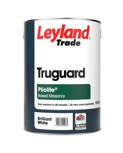 Leyland Trade Truguard Masonry Pliolite 5L Brilliant White