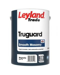 Leyland Trade Truguard Masonry Smooth 5L Magnolia