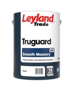 Leyland Trade Truguard Masonry Smooth 5L Black