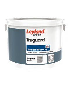 Leyland Trade Truguard Masonry Smooth 10L Magnolia