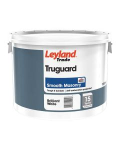 LEYLAND Truguard Masonry Smooth 10L B/White