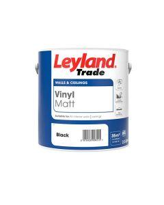 LEYLAND Vinyl Matt 2.5L Black