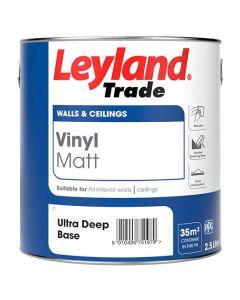 Leyland Trade Hardwearing Acrylic Eggshell Brilliant White 5L