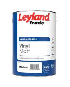 Leyland Trade Gloss Paint Black 750ml