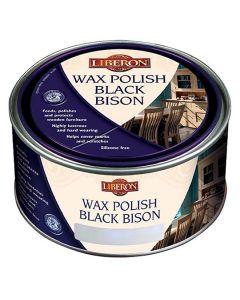 Liberon Wax Polish Black Bison Medium Oak 500ml