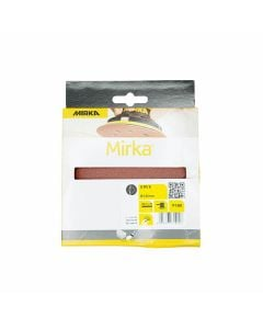 MIRKA Discs - Velcro Backed Pk5 125mm