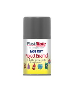 PlastiKote Project Enamel Paint Spray Pewter 100ml