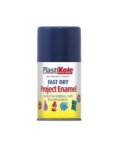 PlastiKote Project Enamel Paint Spray Night Blue 100ml