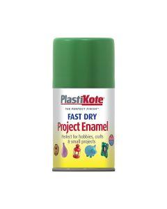 PlastiKote Project Enamel Paint Spray Garden Green 100ml